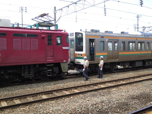 211系3000番台、新天地への旅の途中。 @奥羽本線 青森駅