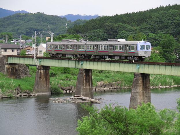 渡良瀬川渡る