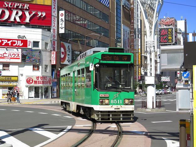 札幌市電ループ化区間乗車。これにて北海道内全線走破達成。 @札幌市...