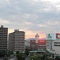 栗東の赤い太陽3(20100723)