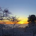 雪に輝く松島2