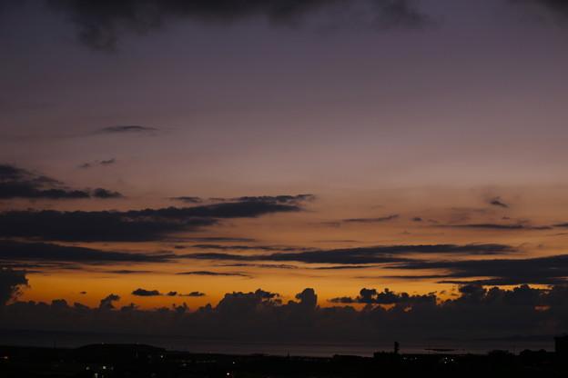 慶良間の夕陽