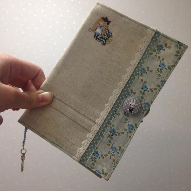 手帳カバー
