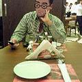 Photos: レストラン半個室の様子