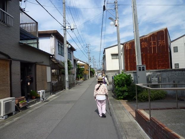 P1030438 笠松駅へ