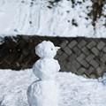 写真: 雪だるま