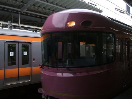 485系「宴」(新宿駅)2