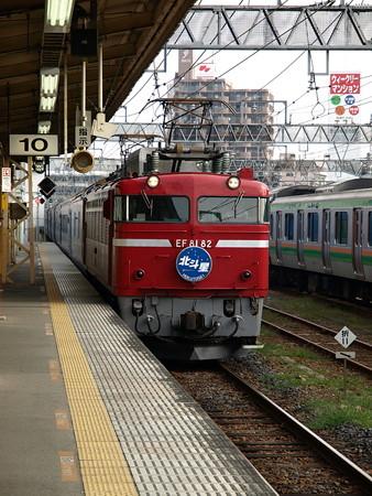 EF81+24系客車 北斗星(宇都宮駅)3
