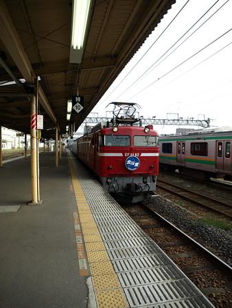 EF81+24系客車 北斗星(宇都宮駅)6