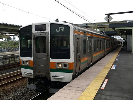 211系(宝積寺駅)2