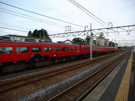 485系特急あいづ号(宝積寺駅)10