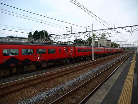 485系特急あいづ号(宝積寺駅)12