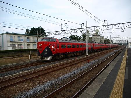 485系特急あいづ号(宝積寺駅)16