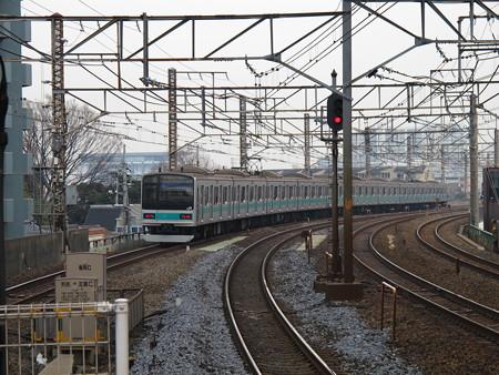 209系(亀有駅)