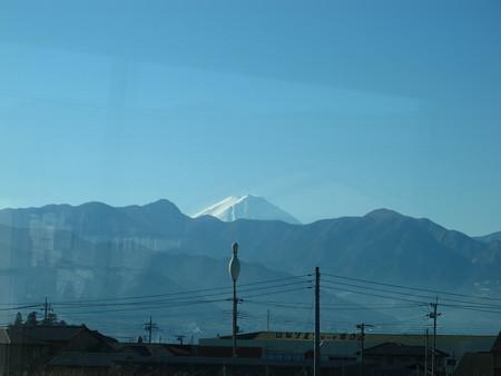特急あづさ3号から富士山3