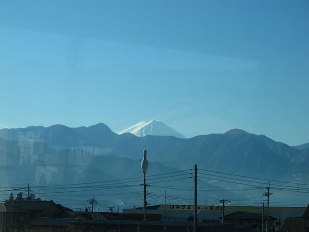 写真: 特急あづさ3号から富士山3