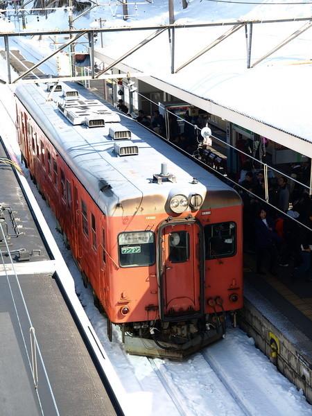 写真: キハ52-156(南小谷駅)1