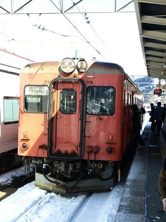 キハ52-156(南小谷駅)4