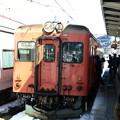 写真: キハ52-156(南小谷駅)4