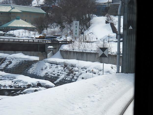 写真: 大糸線キハ52-156後方車窓18