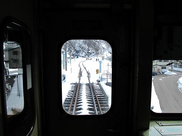 写真: 大糸線キハ52-156後方車窓21