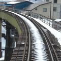 写真: 大糸線キハ52-156後方車窓24