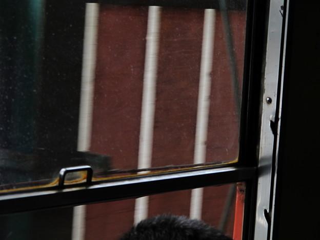 写真: 大糸線キハ52-156車窓