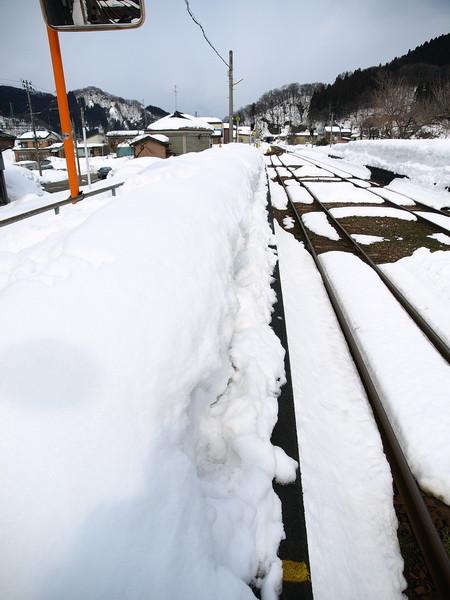 写真: 根知駅