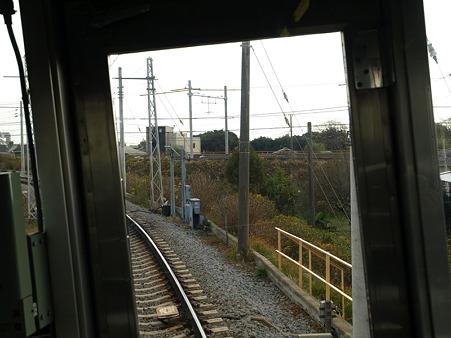 箱根登山電車の車窓(小田原→箱根板橋)2
