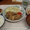 5月29日夕食(蒲郡競艇場職員食堂)