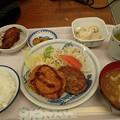 8月24日夕食(蒲郡競艇場職員食堂)