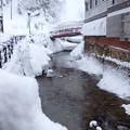 写真: 大雪の山形