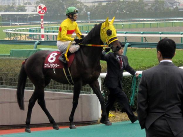 コパノジングーと藤岡佑介騎手