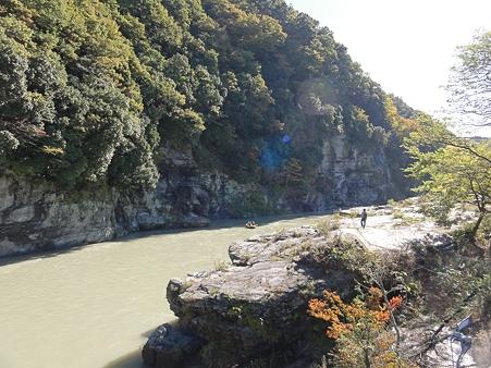 長瀞の岩畳2