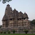夕刻の寺院 カジュラーホー Before dark,Khajuraho