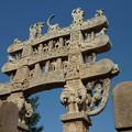 Photos: 第1塔北塔門~仏教彫刻 Details of Northern torana