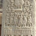 Photos: 菩提樹の浮彫~仏教彫刻Symbol of Buddha :Bo-Tree relief