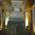 Photos: アジャンター第9窟ストゥーパ Simple Stupa,Ajanta cave