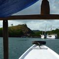 気もそぞろリンチャ島寄港 Approach Rincha Island