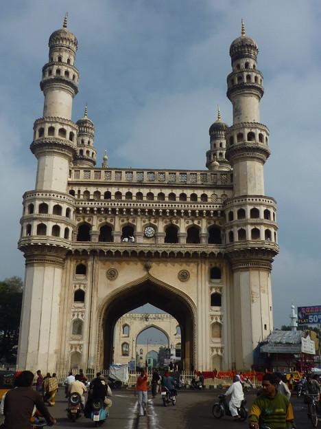 Photos: 街のシンボル チャール・ミナール Char Minar