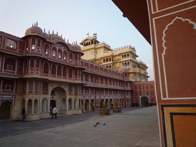 シテイ・パレス チャンドラ・マハル Diwan-I-Khas & Chandra Mahal
