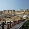 世界遺産アンベール城  Front view of the Palace