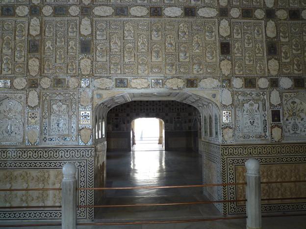 アンベール城のハイライト鏡の間 Sheesh Mahal Interio