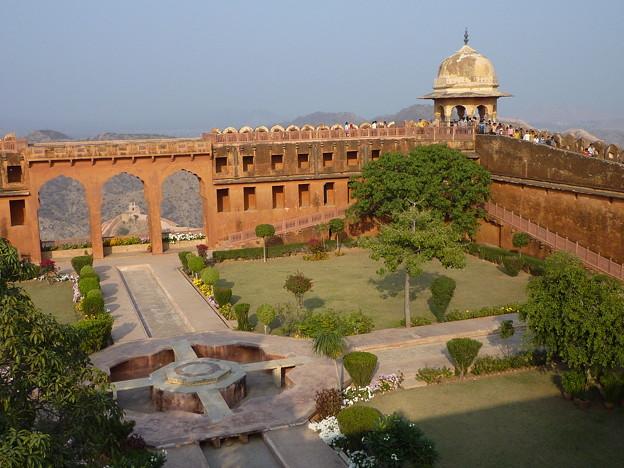 ジャイガル要塞 空中庭園Jaigarh Fort Charbagh garden