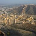 Photos: ジャイガル要塞からアンベール城を Panoramic view of Amer Palace