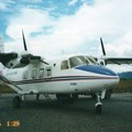 Y-12 ジャール平原のポーンサワン空港 Y-12 at Phonsavan,Laos