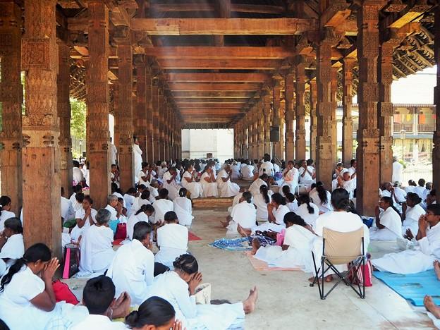 満月祭の祈り Navam Full Moon Poya Day