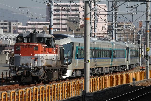 東武鉄道500系「リバティ」甲種輸送