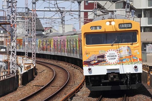 大阪環状線103系「OSAKA POWER LOOP」