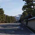 残雪の大文字山